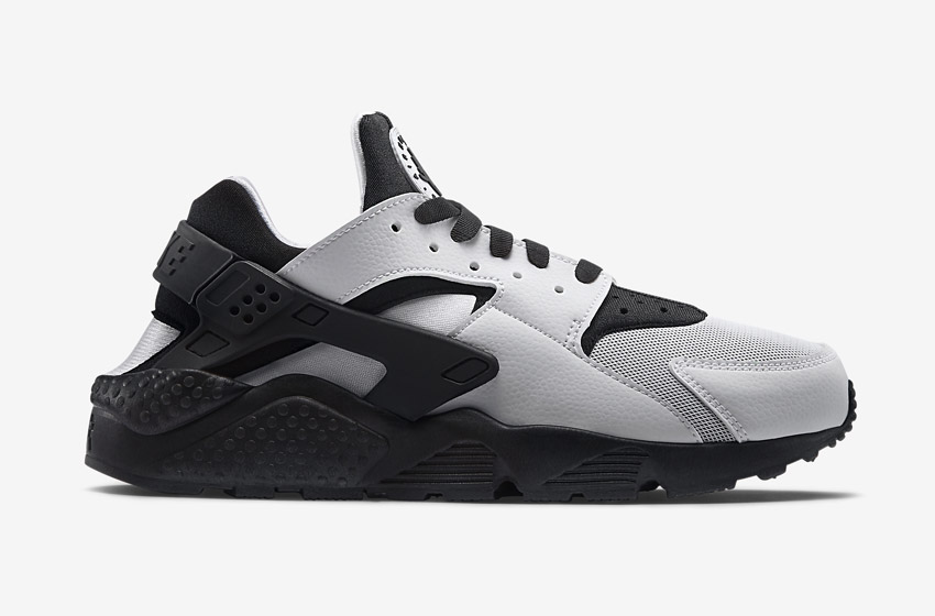 Nike Air Huarache – šedé/černé dámské boty, tenisky