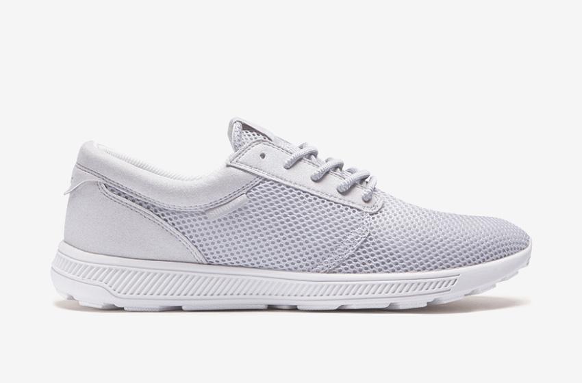 Boty Supra Hammer Run – běžecké tenisky, světlé šedé, bílé, dámské, pánské, sneakers,