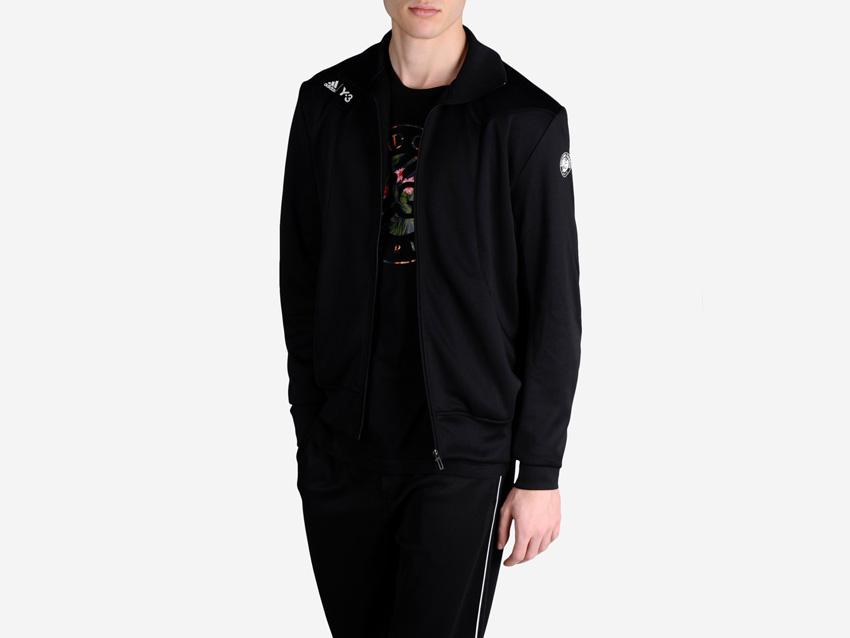 adidas – Roland Garros Y-3 – pánská černá sportovní bunda, tenisová bunda na zip