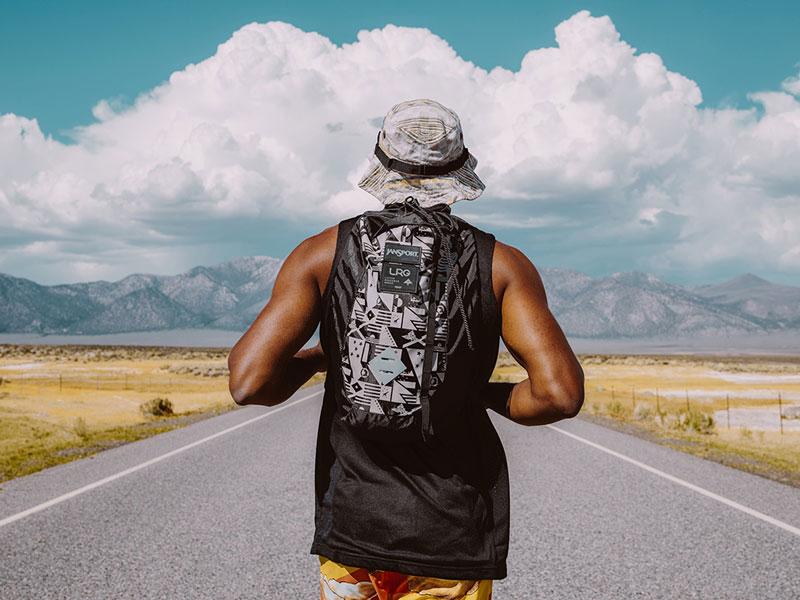 LRG – batoh na záda – oblečení na léto 2015