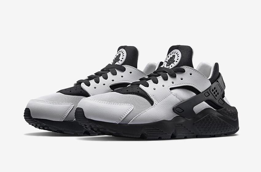 Nike Air Huarache – šedé/černé dámské tenisky, boty, sneakers