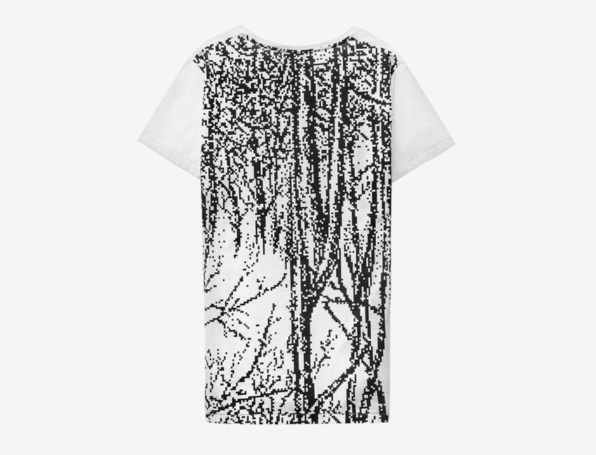Trinitas – Volume IX – pánské bílé tričko s potiskem, bitmapa