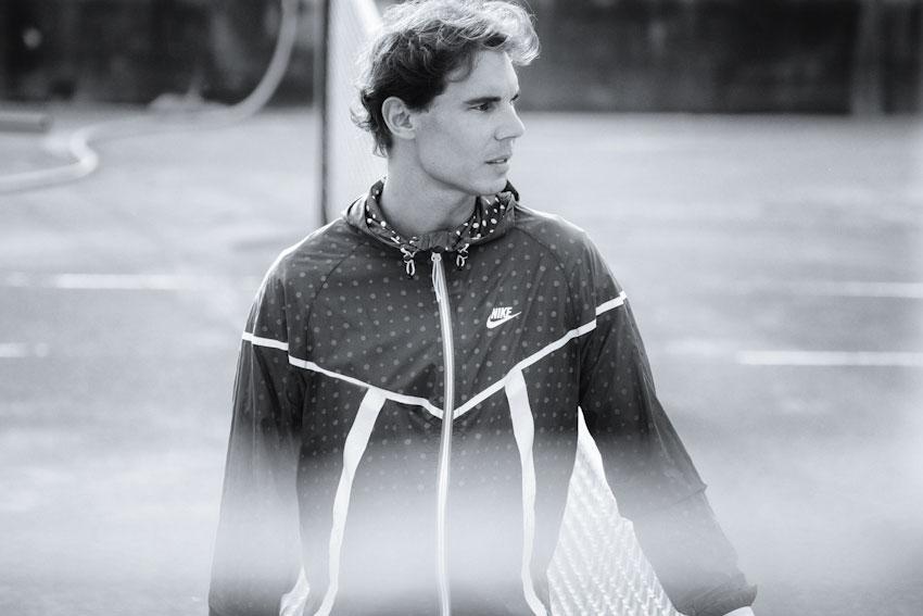 Nike Tech Hyperfuse Windrunner – pánská běžecká bunda s kapucí, Rafael Nadal – lookbook 2015