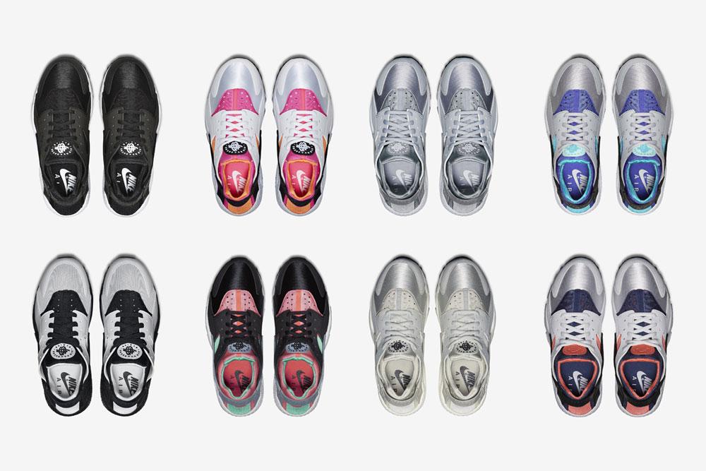 Nike Air Huarache – dámské boty, tenisky, sneakers, horní pohled