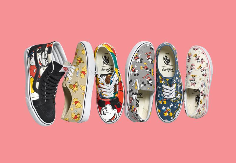 Vans & Disney – pánské a dámské oblečení a boty