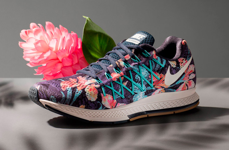 Nike Photosynthesis Pack – sportovní boty Nike Air Zoom Pegasus 32 Photosynthesis, floral print