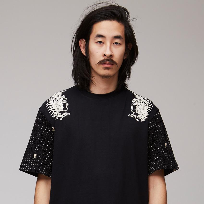 VV — Villainous Visard – černé pánské tričko s potiskem – Vangelis