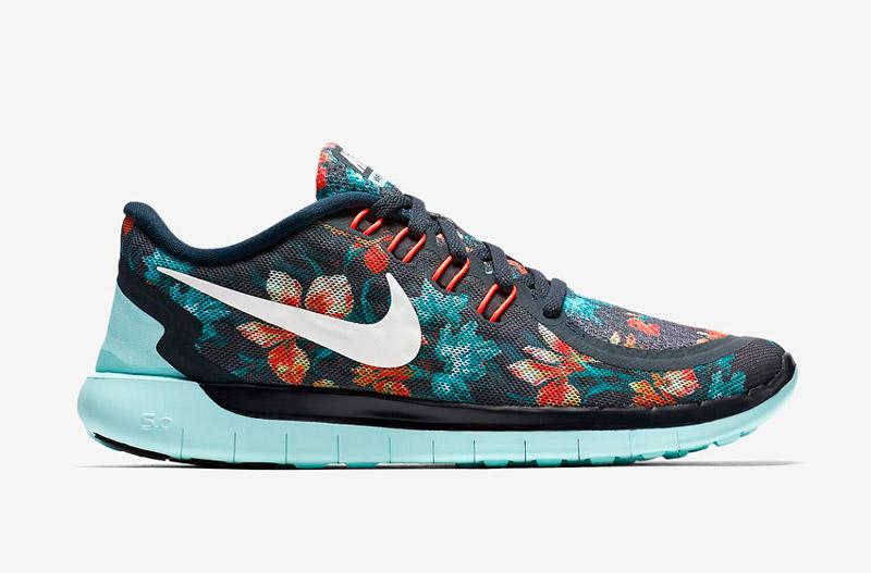 Nike Free 5.0 Photosynthesis – sportovní boty, běžecké tenisky, dámské, pánské, barevné, rostlinný vzor, floral