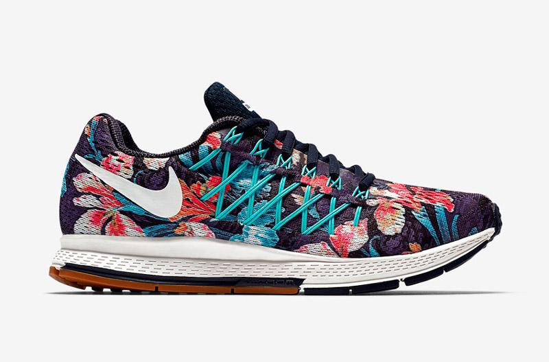 Nike Air Zoom Pegasus 32 Photosynthesis – sportovní boty, běžecké tenisky, dámské, pánské, barevné, rostlinný vzor, floral