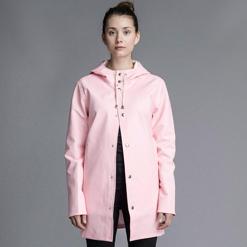 Stutterheim – pršiplášť s kapucí – dámský, pánský – růžový