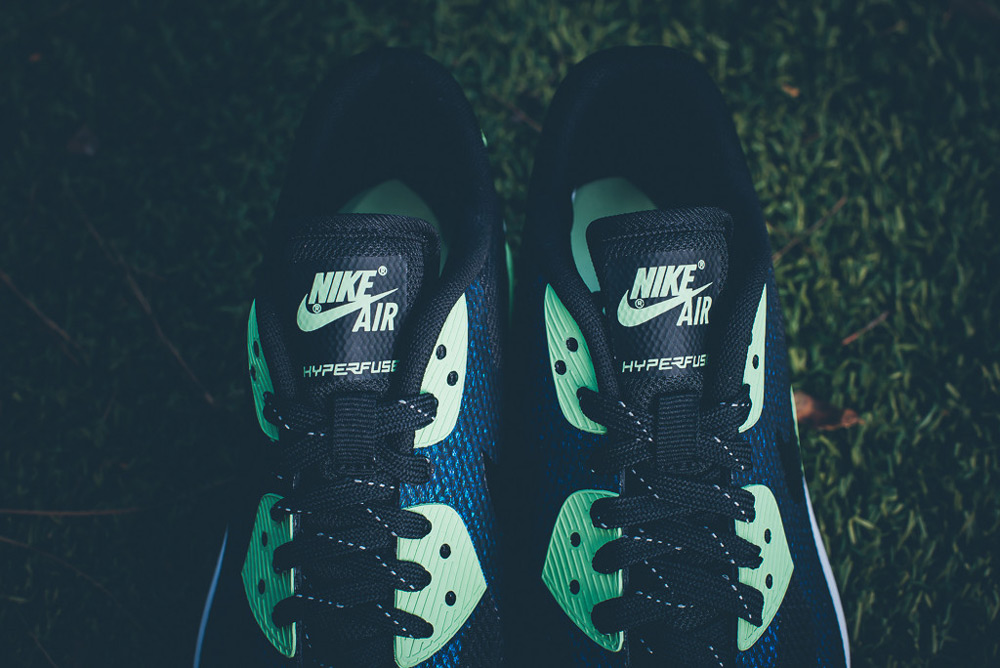 Dámské Nike Air Max 90 Hyperfuse WMNS WC QS – modré boty, tenisky, sneakers, World Cup