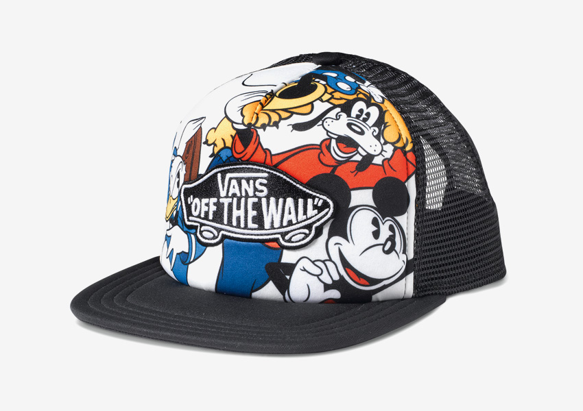 Vans x Disney – kšiltovka Vans of the Wall, Mickey Mouse, Goofy