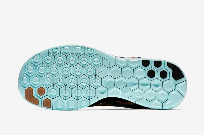 Nike Free 5.0 Photosynthesis – detail podrážky