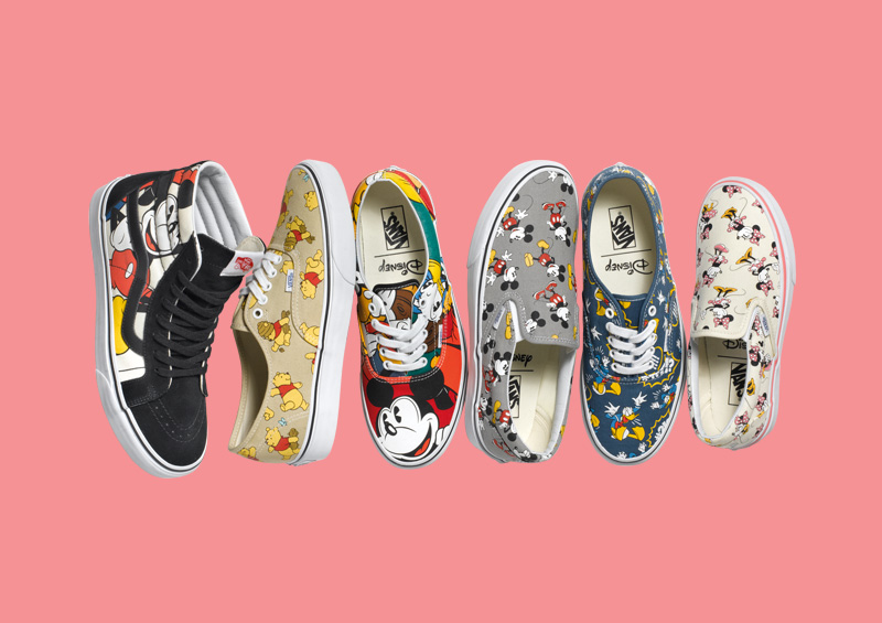 Vans x Disney – boty SH8-Hi, Authentic, Era, Slip-On
