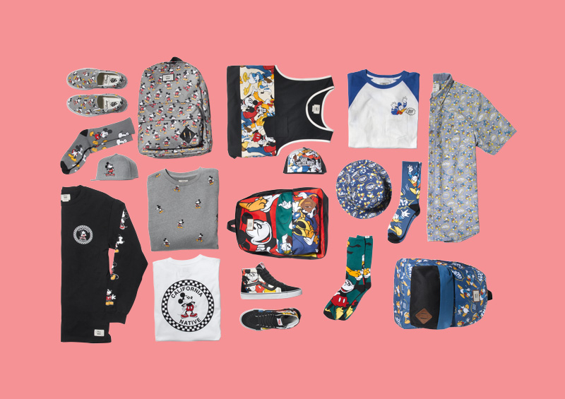Vans x Disney – dámské a pánské oblečení, boty, doplňky