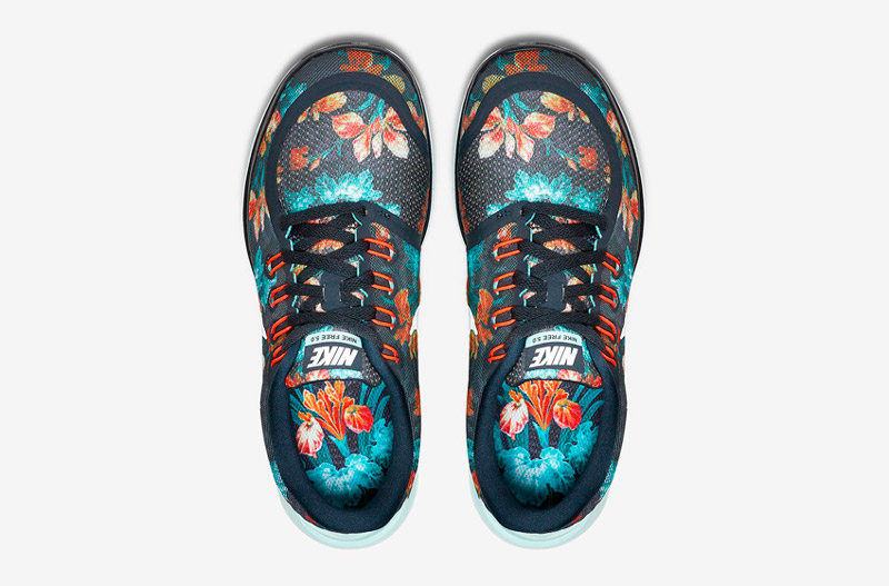 Nike Free 5.0 Photosynthesis – horní pohled