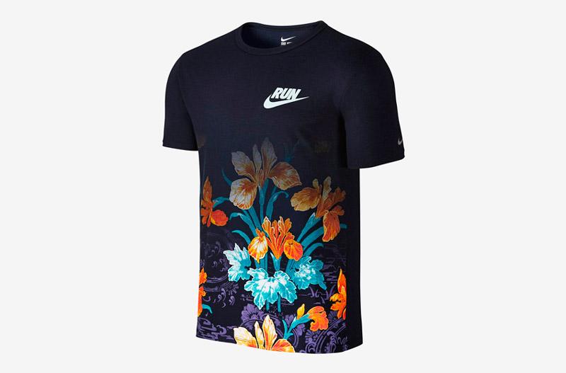 Nike Photosynthesis Pack – pánské sportovní tričko s květinami, floral print
