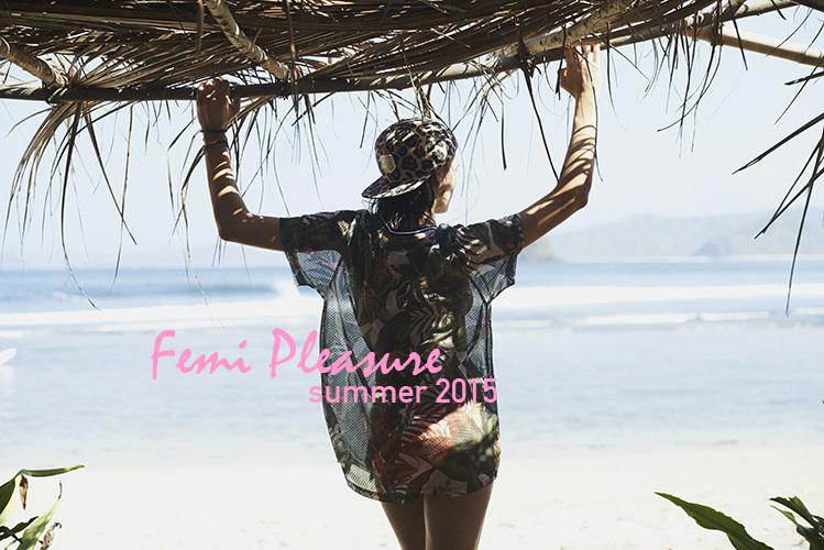 Femi Pleasure – lookbook – dámské oblečení – jaro/léto 2015