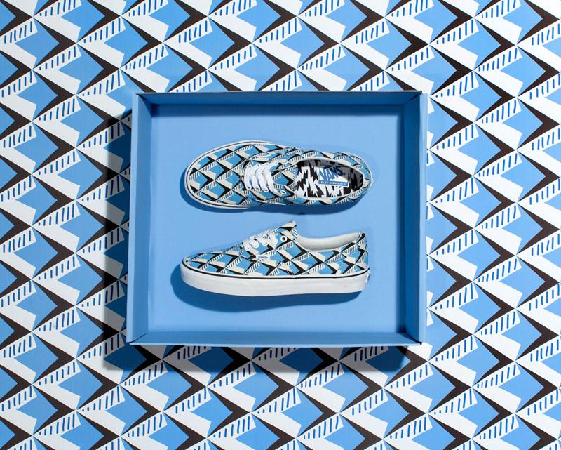Vans x Eley Kishimoto — boty Vans Era s geometrickým vzorem Whopping Waffle — oblečení, boty a doplňky Living Art