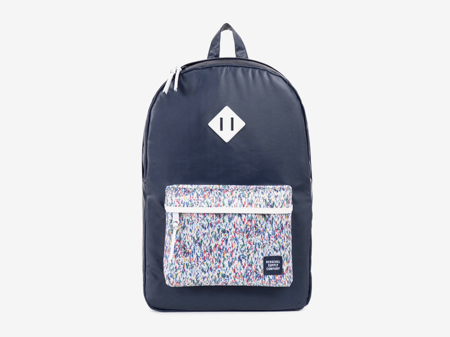 Batoh Herschel Supply & Liberty London – tmavě modrým barevné vzory – Heritage Backpack – Joshua and Graham Liberty print