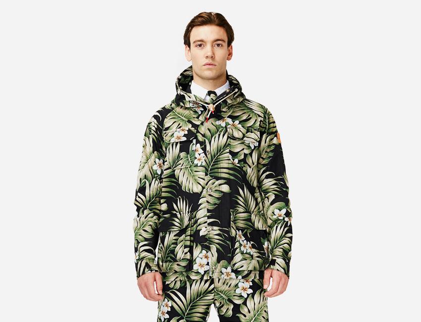Penfield — pánská bunda s kapucí, motiv Monstera — pánské oblečení jaro/léto 2015