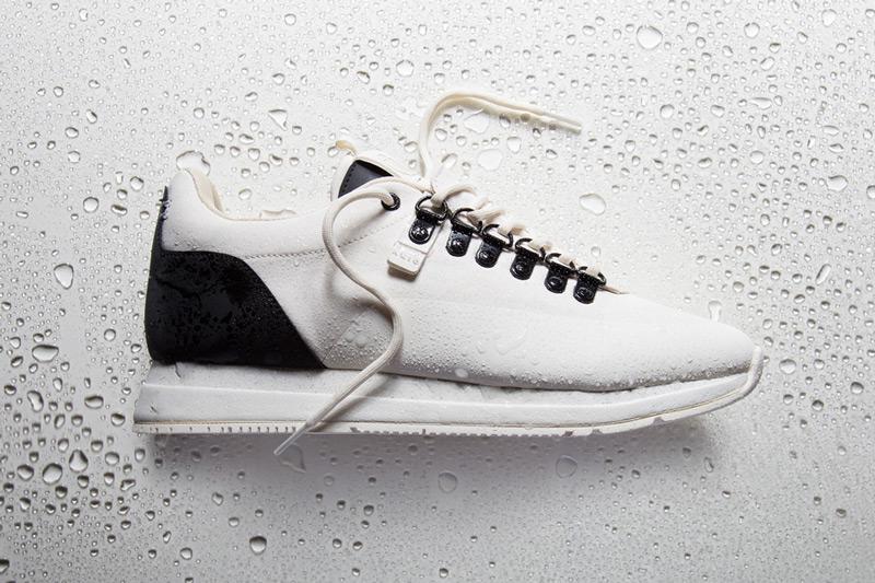 Akio — bílé boty, tenisky, dámské a pánské sneakers, voděodolné, nepromokavé — The Orion — Rain City Pack