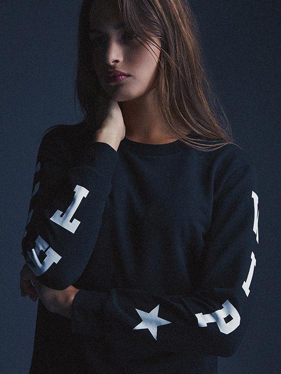 Carhartt WIP – černá mikina – dámská – podzim/zima 2015, dámské oblečení