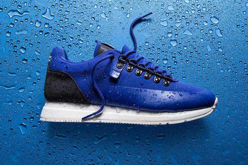 Akio — modré boty, tenisky, dámské a pánské sneakers, voděodolné, nepromokavé — The Orion — Rain City Pack