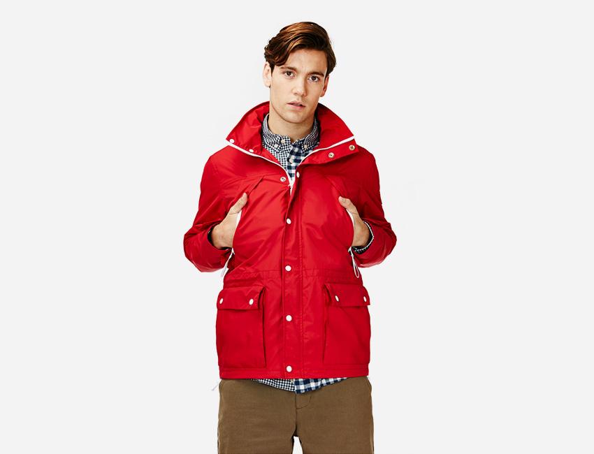 Penfield — pánská kratší červená bunda — pánské oblečení jaro/léto 2015