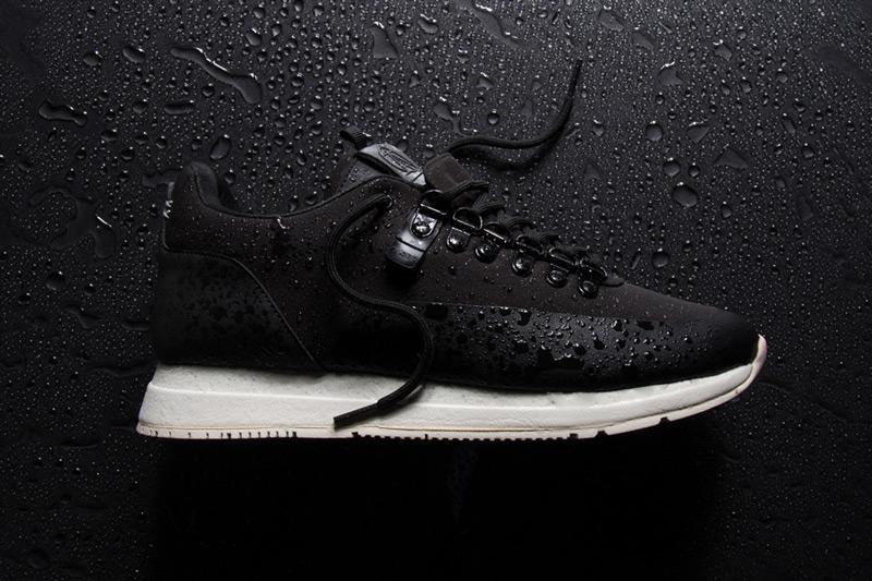 Akio — černé boty, tenisky, dámské a pánské sneakers, voděodolné, nepromokavé — The Orion — Rain City Pack