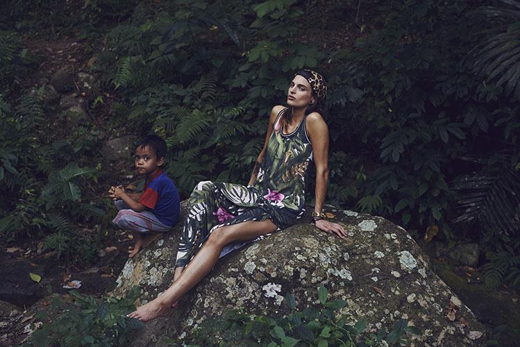 Femi Pleasure – letní šaty – forest, prales – dámské oblečení – jaro/léto 2015