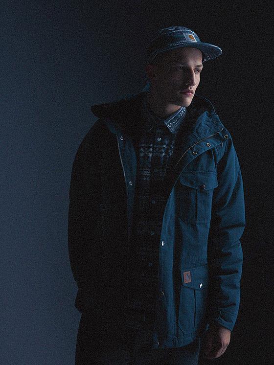 Carhartt WIP — pánská podzimní/zimní bunda s kapucí — podzim/zima 2015, pánské oblečení
