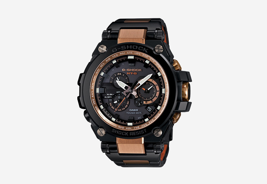 Casio G-shock MT-G — odolné náramkové hodinky