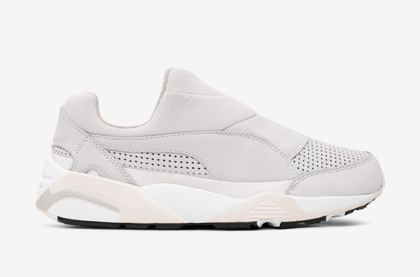Stampd x Puma Trinomic Sock — dámské pánské boty bez tkaniček, futuristické tenisky, moderní sneakers