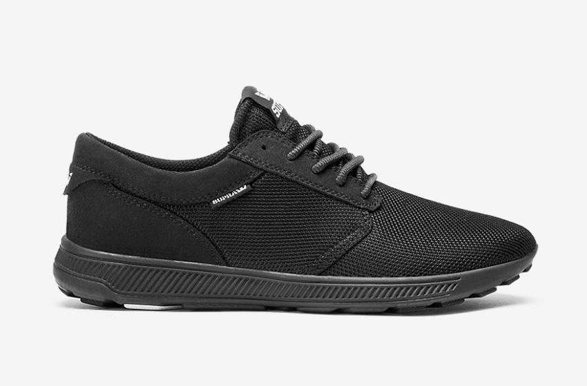 Boty Supra Hammer Run — černé — běžecké lehké tenisky — pánské, dámské