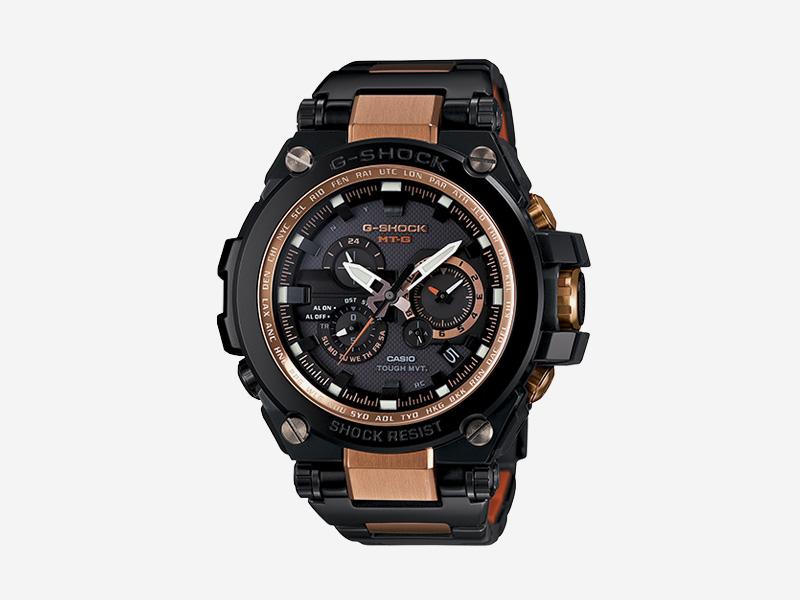 Casio G-shock MTGS1000BD-5A — odolné náramkové hodinky s chronografy