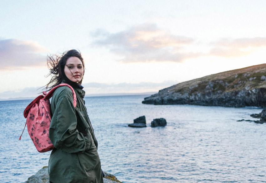 Herschel Supply — růžový dámský batoh — Reid Backpack — podzim 2015 — lookbook
