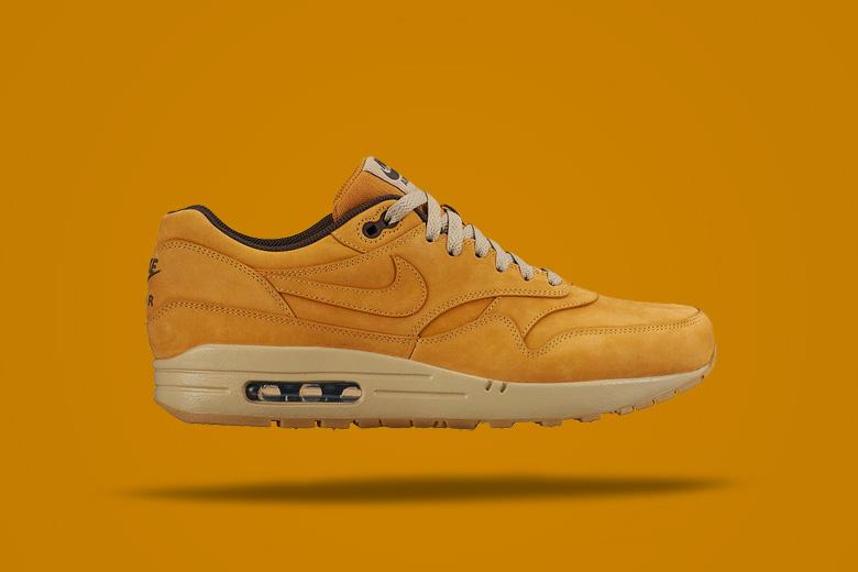 Nike Air Max 1 Wheat — hnědé boty, tenisky, sneakers, pánské, dámské