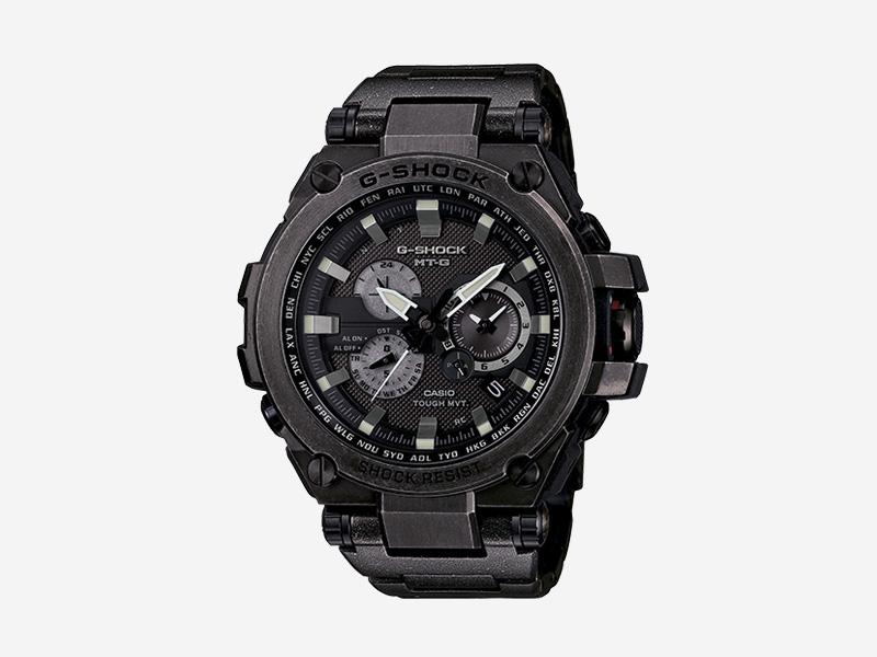 Casio G-shock MTGS1000V-1A — odolné náramkové hodinky s chronografy