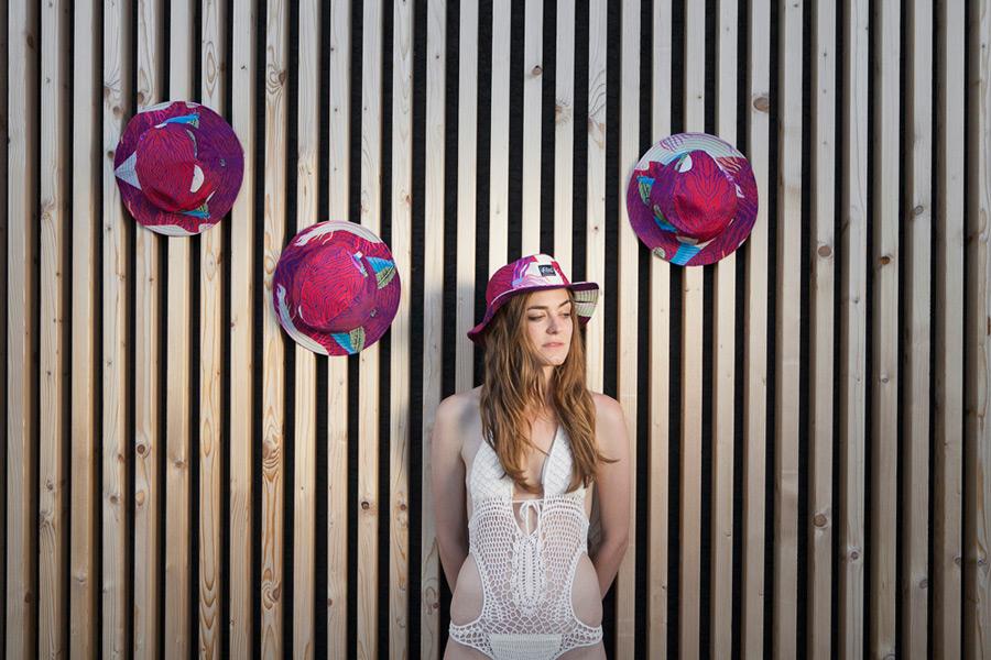 Retart — barevný letní klobouk proti slunci, summer hat, sun hat