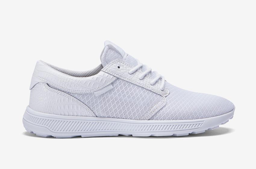 Boty Supra Hammer Run — bílé — lehké tenisky, běžecké — dámské, pánské