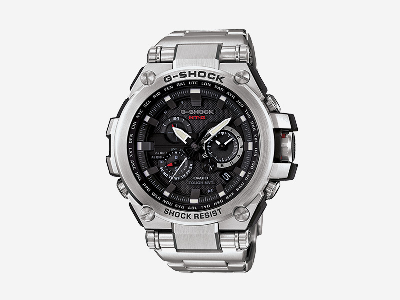 Casio G-shock MTGS1000D-1A — odolné náramkové hodinky s chronografy