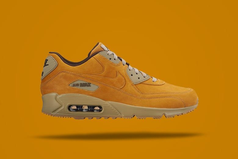 Nike Air Max 90 Wheat — hnědé boty, tenisky, sneakers, pánské, dámské, pískové