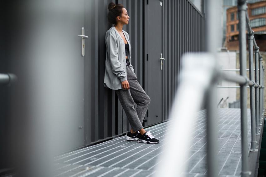 Puma Trinomic R698 — černé, sneakers, tenisky, pánské, dámské