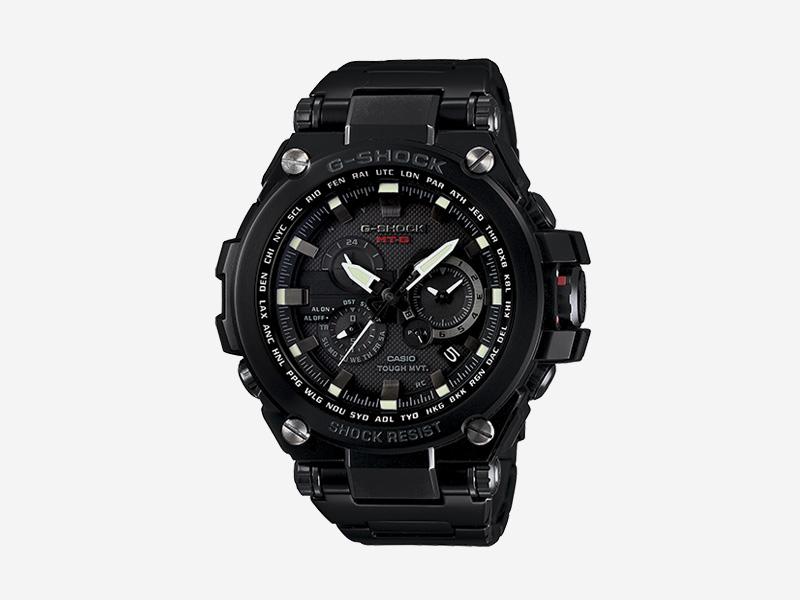 Casio G-shock MTGS1000BD-1 — odolné náramkové hodinky s chronografy