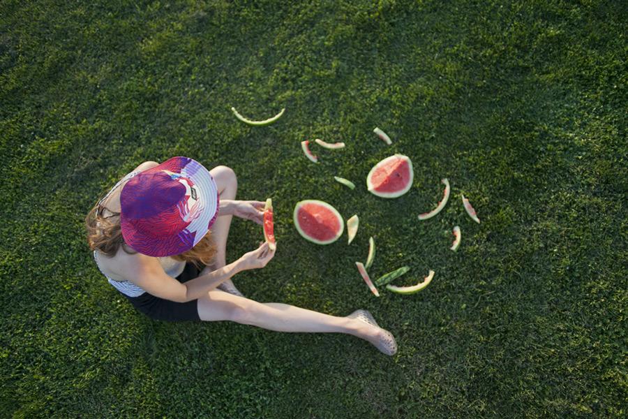 Retart — letní klobouk, barevný klobouk proti slunci, summer hat, sun hat