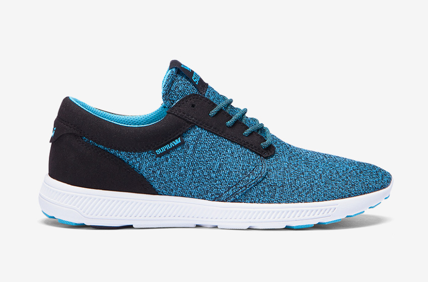 Boty Supra Hammer Run — modré — běžecké lehké tenisky — pánské, dámské