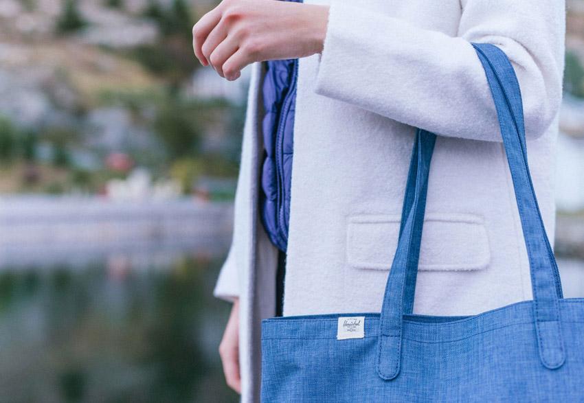 Herschel Supply — dámská taška do ruky/přes rameno — Richmond Tote — podzim 2015 — lookbook