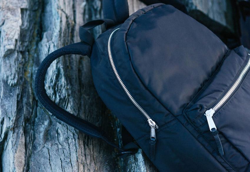 Herschel Supply — černý batoh na záda — Lawson Backpack — podzim 2015 — lookbook