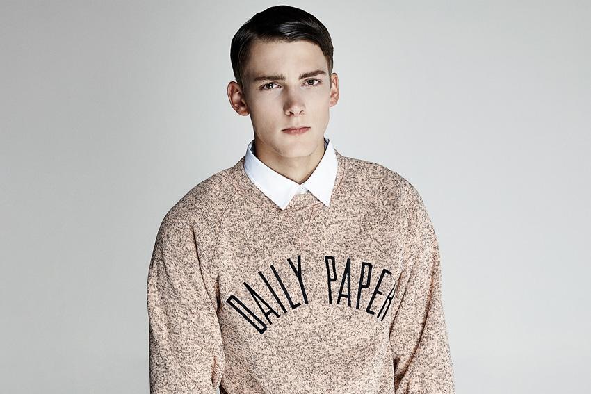 Daily Paper — pánská mikina, melír — podzimní oblečení — 2015